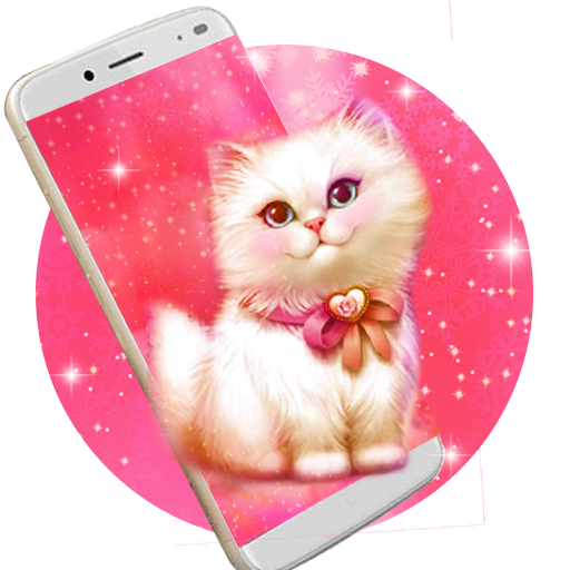 Amazon Com Kawai Cute Kitty Live Wallpaper Appstore For Android