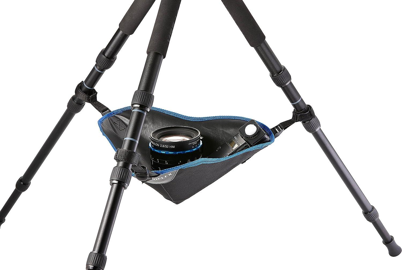 Novoflex Triopod Stativ Zubehörtasche Mit Verstellbaren Klettverschlussbändern Für Zusätzliche Stabilität Bei Wind Und Unebenem Untergrund Geeignet Trio Tc Kamera