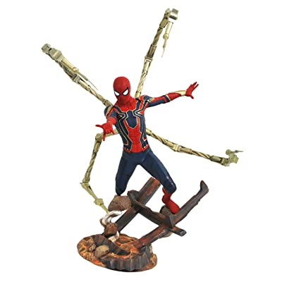 DIAMOND SELECT TOYS Marvel Premier Collection: Avengers Infinity War Spider-Man Resin Statue: Toys & Games