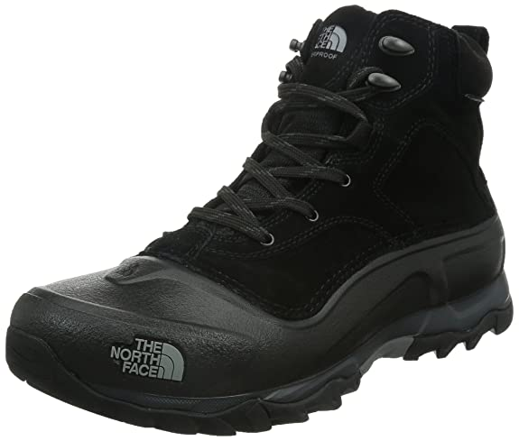 The North Face Men's Snowfuse TNF Black/TNF Black 7 D US best men's snowboots