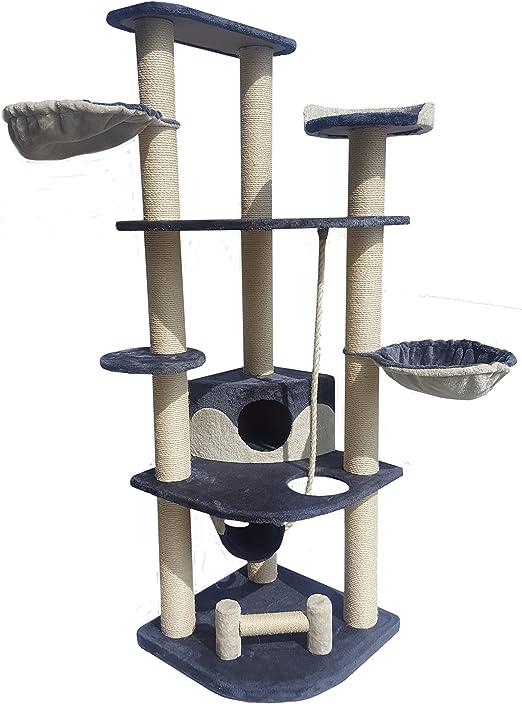 aquag tipo XXL PREMIUM Rascador Árbol para gatos gato parte Árbol ...