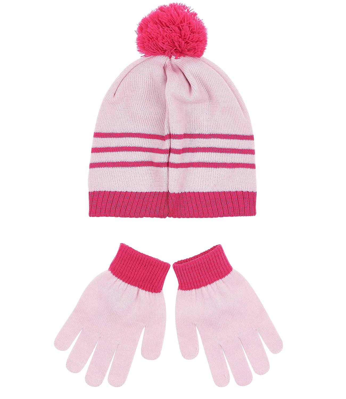 Disney Minnie Ensemble 2 pi/èces bonnet et gants rose