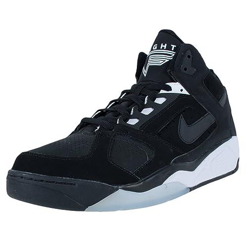 buy popular bcb46 51613 Nike Air Lite Flight High 329984-002-318644-002-zapatillas de Hombre, Color  Negro, Negro (Negro), 40.5  Amazon.es  Zapatos y complementos