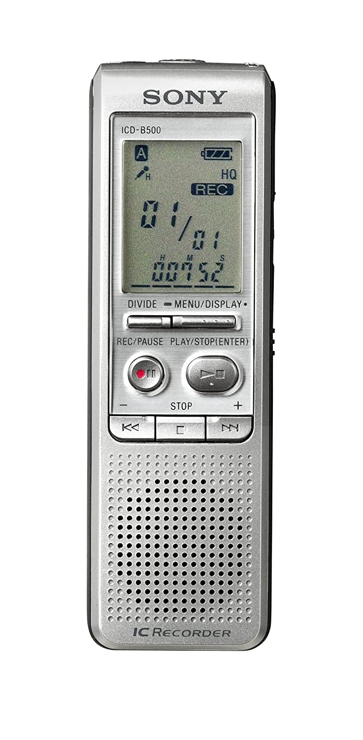 Sony Icd B500 Digital Voice Recorder With 256 Mb Built In Flash Memory Record And Playback Circuit Schematic Electronics