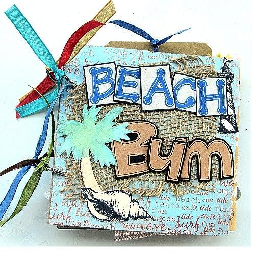 Amazon Beach Scrapbook Mini Scrapbook Beach Journal Vacation