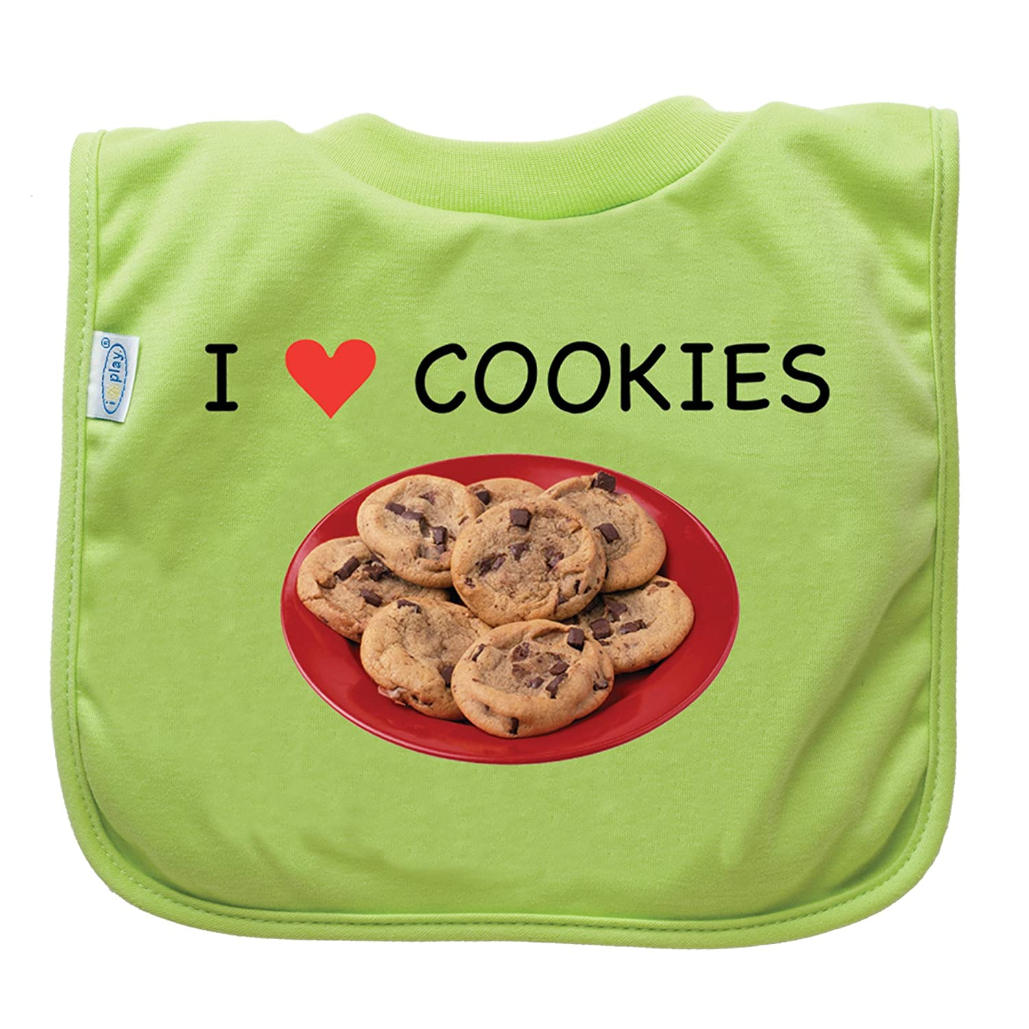 green sprouts Favorite Food Bib, Lime Cookies (Discontinued by Manufacturer)