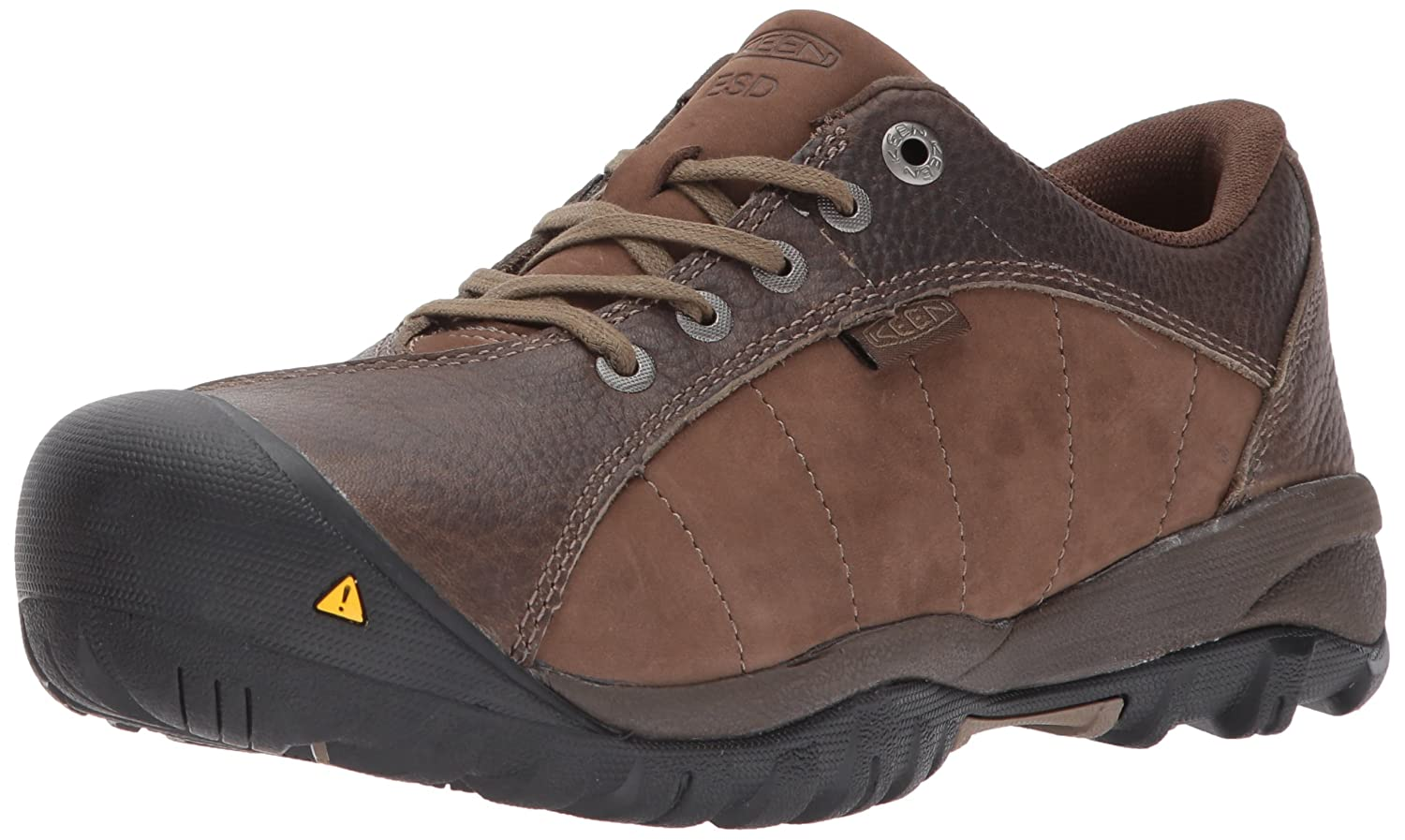 KEEN Utility Women's Santa FE at ESD Industrial and Construction Shoe B01N4LGQPO 10.5 W US|Cascade Brown/Shiitake