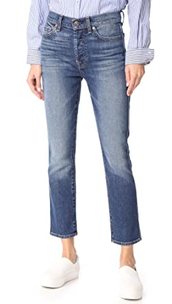 Visit Online Cotton Cropped Jeans 7 For All Mankind Cost For Sale Low Price Fee Shipping Sale Online xXsPuC