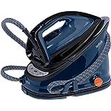 Tefal GV6840 Effectis Anti-Scale High Pressure Steam Generator, 2200 Watt, Black/Blue