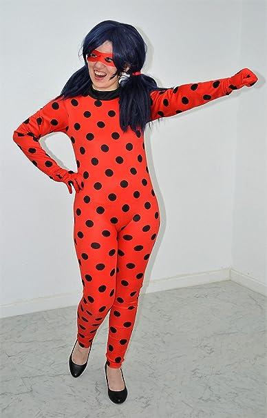 Ladybug disfraz inspirado (Niño/Adulto) (Ed. Reino) (13 a 15 años ...