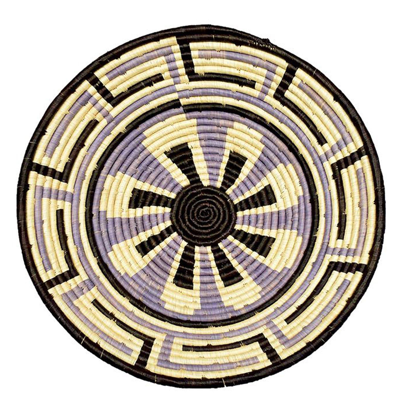 The Crabby Nook Stardust Design Fruit or Display African Basket Handwoven Home Decor