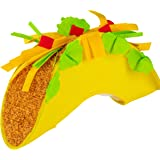 Juvale Fiesta Taco Hat Novelty Costume Accessory for Cinco de Mayo, Photo Booth Prop, and Parties, Adult Size