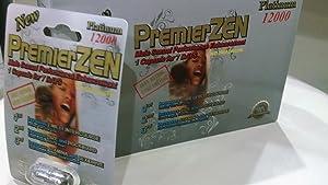 Premium Formula Male Enhancement Pills Bundle of 6 Cards (2 PremierZen, 2 Mamba 69K & 2 Panther 69K) (3)
