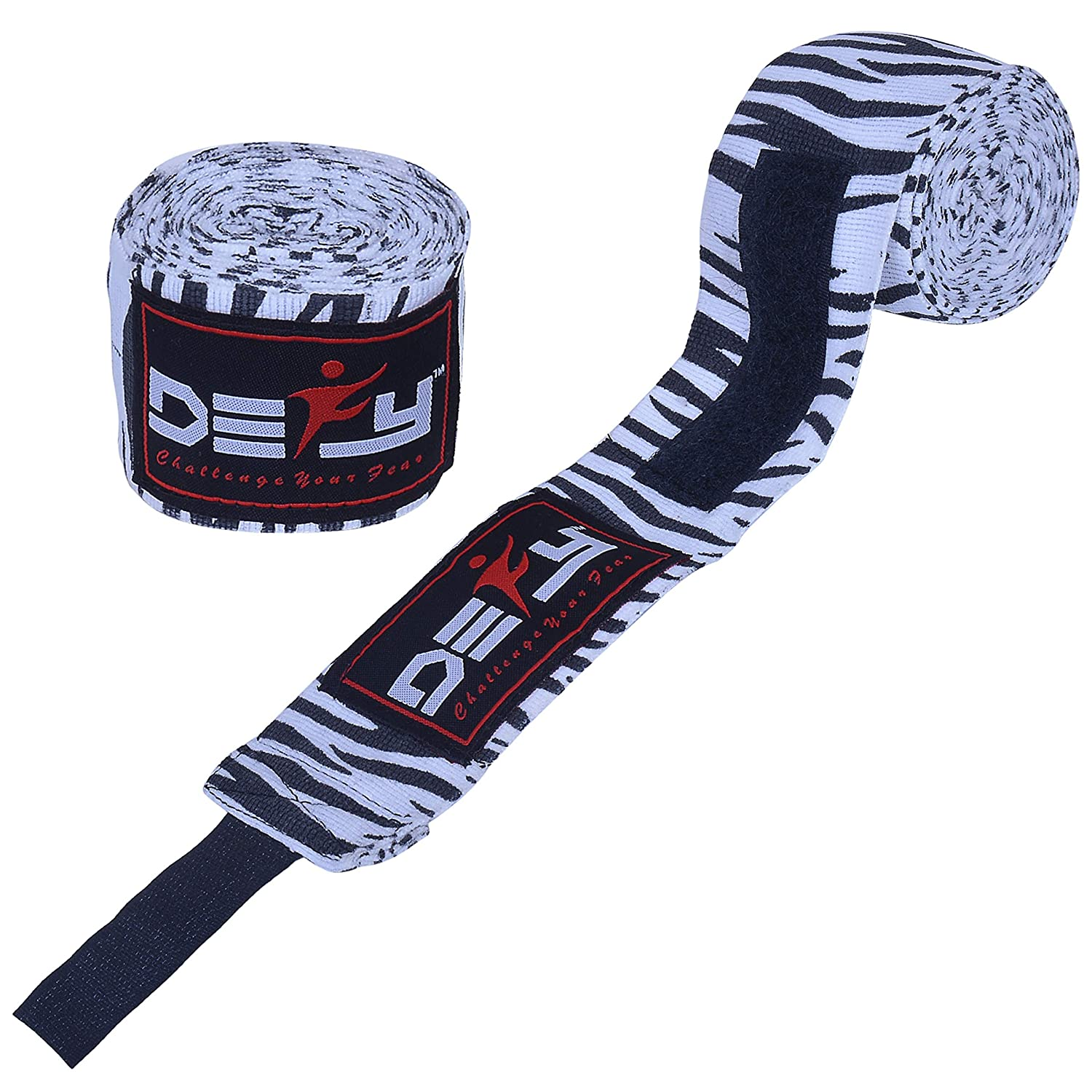 DEFY Professional 180 Inch Hand Wraps for Boxing Muay Thai MMA Elastic Bandages for Men /& Women Pair Defy Sports Inc