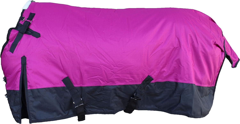 Challenger 1200D Turnout Waterproof Heavy-Weight Horse Winter Blanket 5TB