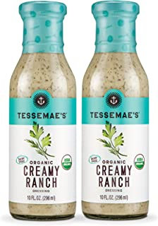 product image for Tessemae's All Natural Salad Dressing 2-Pack (Organic Creamy Ranch)