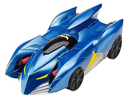 Amazon Com Batman 2 In 1 Transform And Attack Batmobile Vehicle