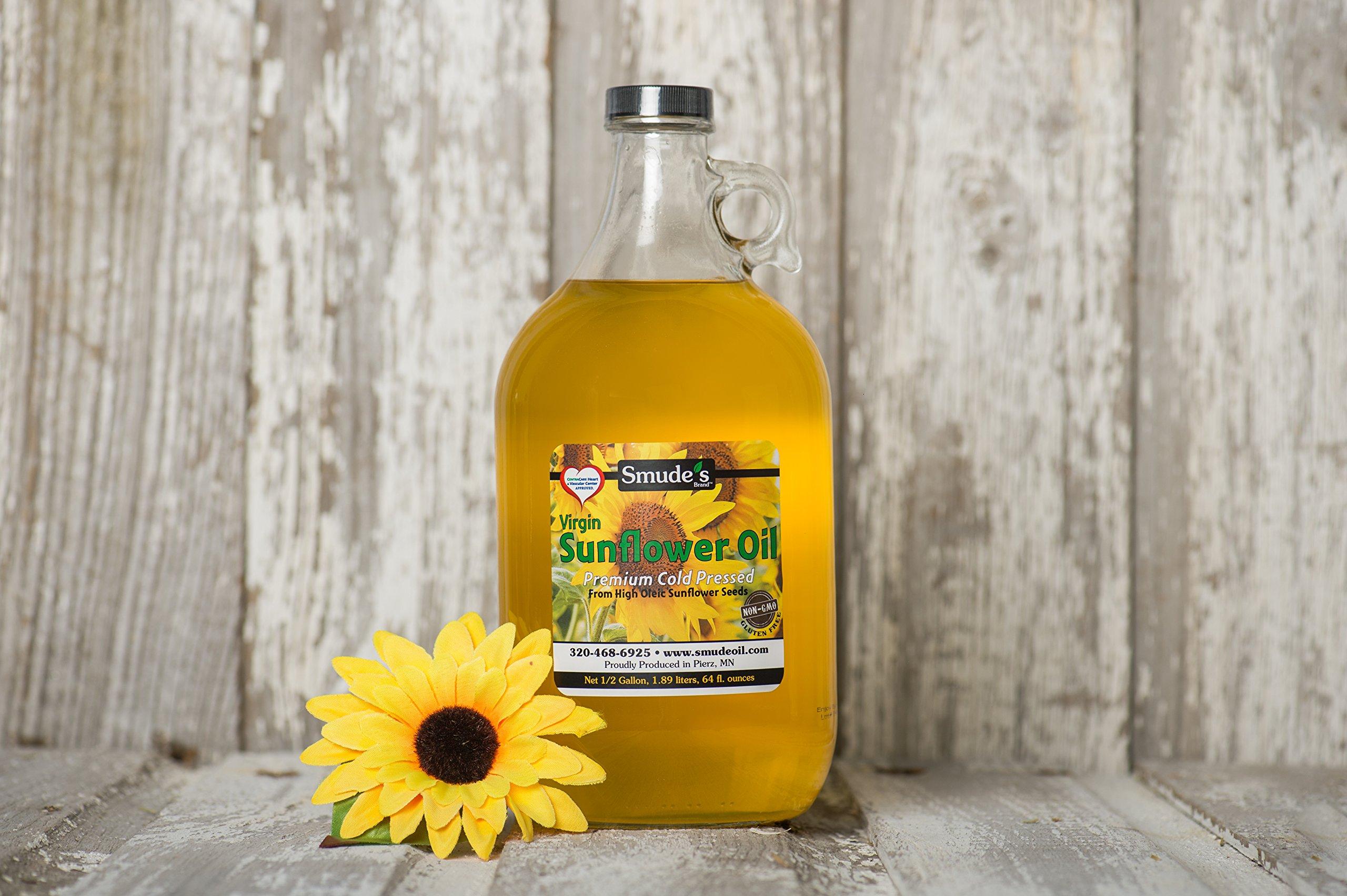 Half Gallon Cold Pressed High Oleic Sunflower Oil