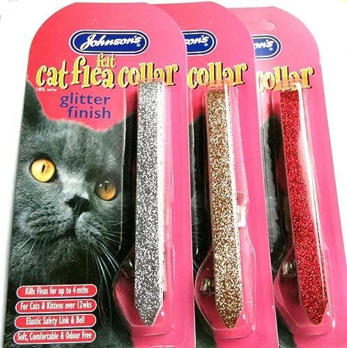 Johnsons Felt Cat Flea Collar