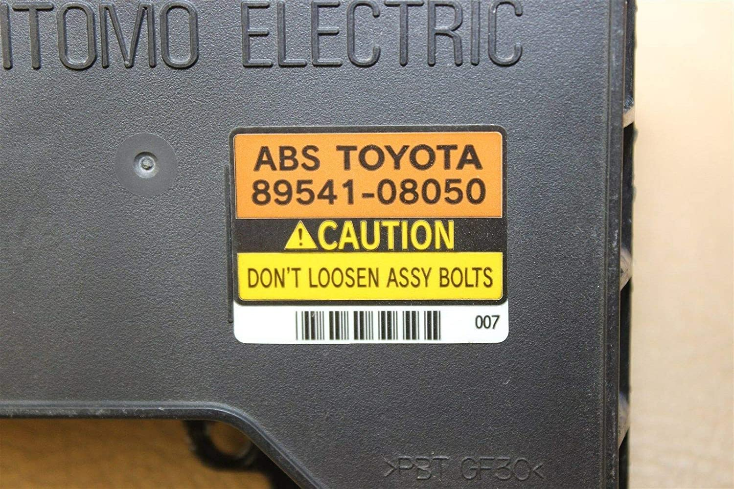 04 05 06 TOYOTA SIENNA ABS ANTI-LOCK BRAKE CONTROL MODULE 89541-08050 REMAN