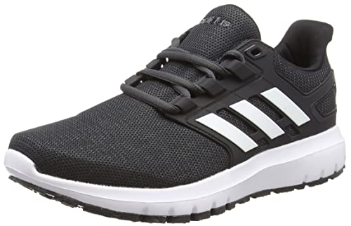 quite nice d46b4 2c6aa adidas Mens Energy Cloud 2 Running Shoes, Core BlackFTWR WhiteCarbon S18