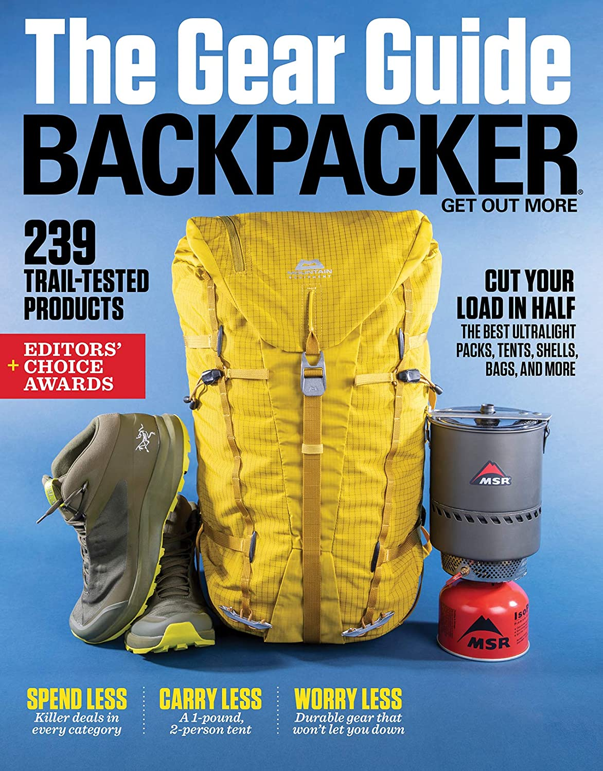 Backpacker cover