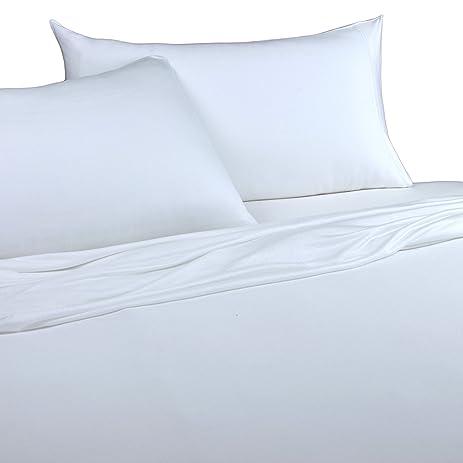 Brielle 100 Percent Modal From Beech Jersey Knitted Sheet Set Queen White