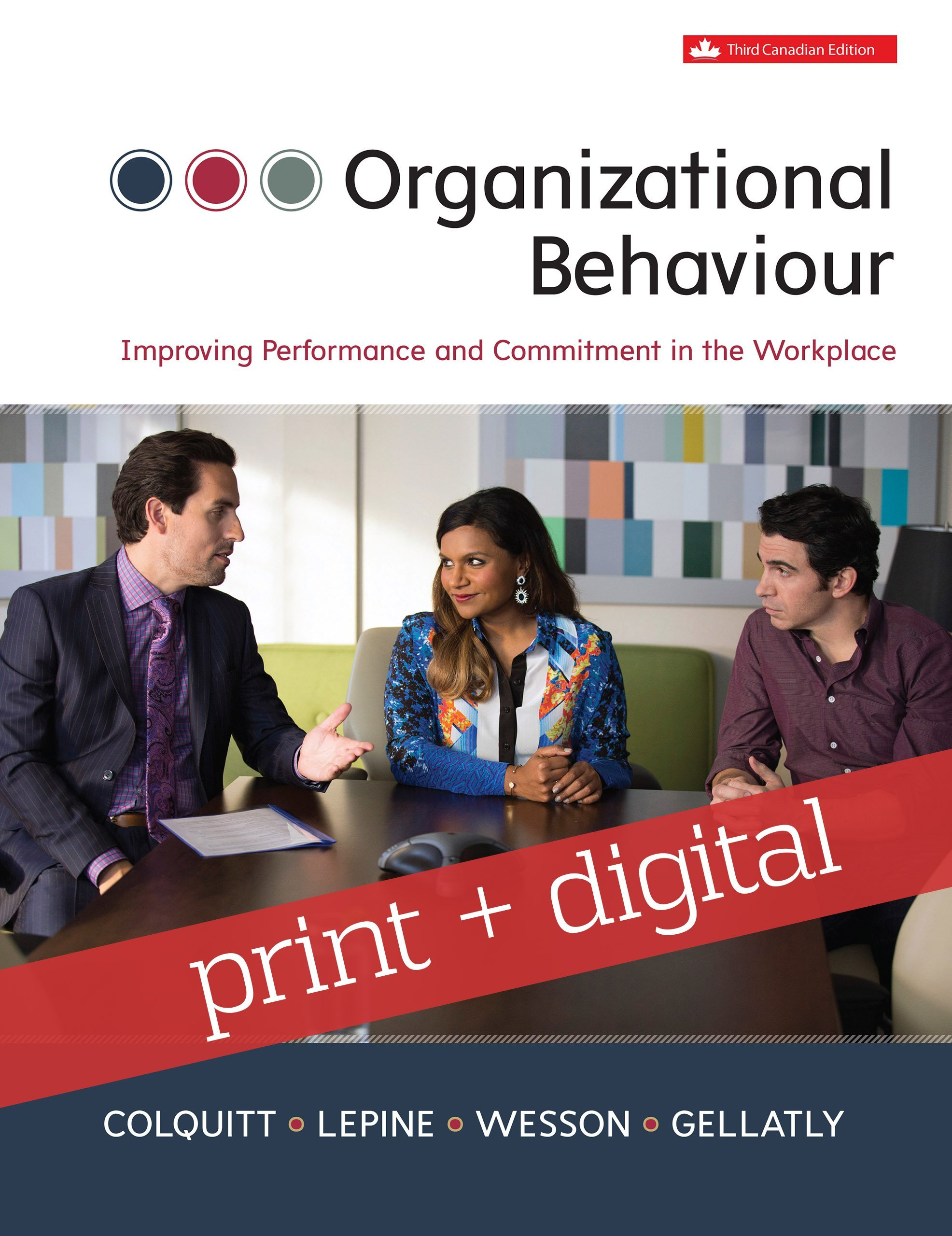 Organizational behavior improving performance and commitment in the organizational behaviour improving performance and commitment in the workplace with connect with smartbook combo fandeluxe Gallery