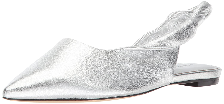 Sigerson Morrison Women's Sham Ballet Flat B071JWR1LQ 6 B(M) US|Silver