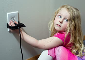 Image: Secure Connect Home Electrical Safety Product | Protect your Child from dangerous outlets | Keep Appliance and Equipment plugs from being damaged | Easy To Use - You don't even have to loosen the wall plate