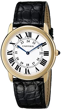 stainless roman cartier dial automatic watches steel watch bracelet case calibre numeral white