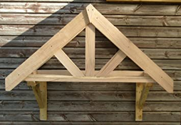 Oak Front Door Canopy Porch Bespoke Hand Made Porch & Oak Front Door Canopy Porch Bespoke Hand Made Porch: Amazon.co.uk ...