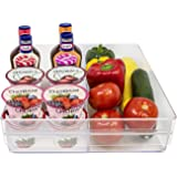 Acrylic Double Refrigerator Storage Drawer