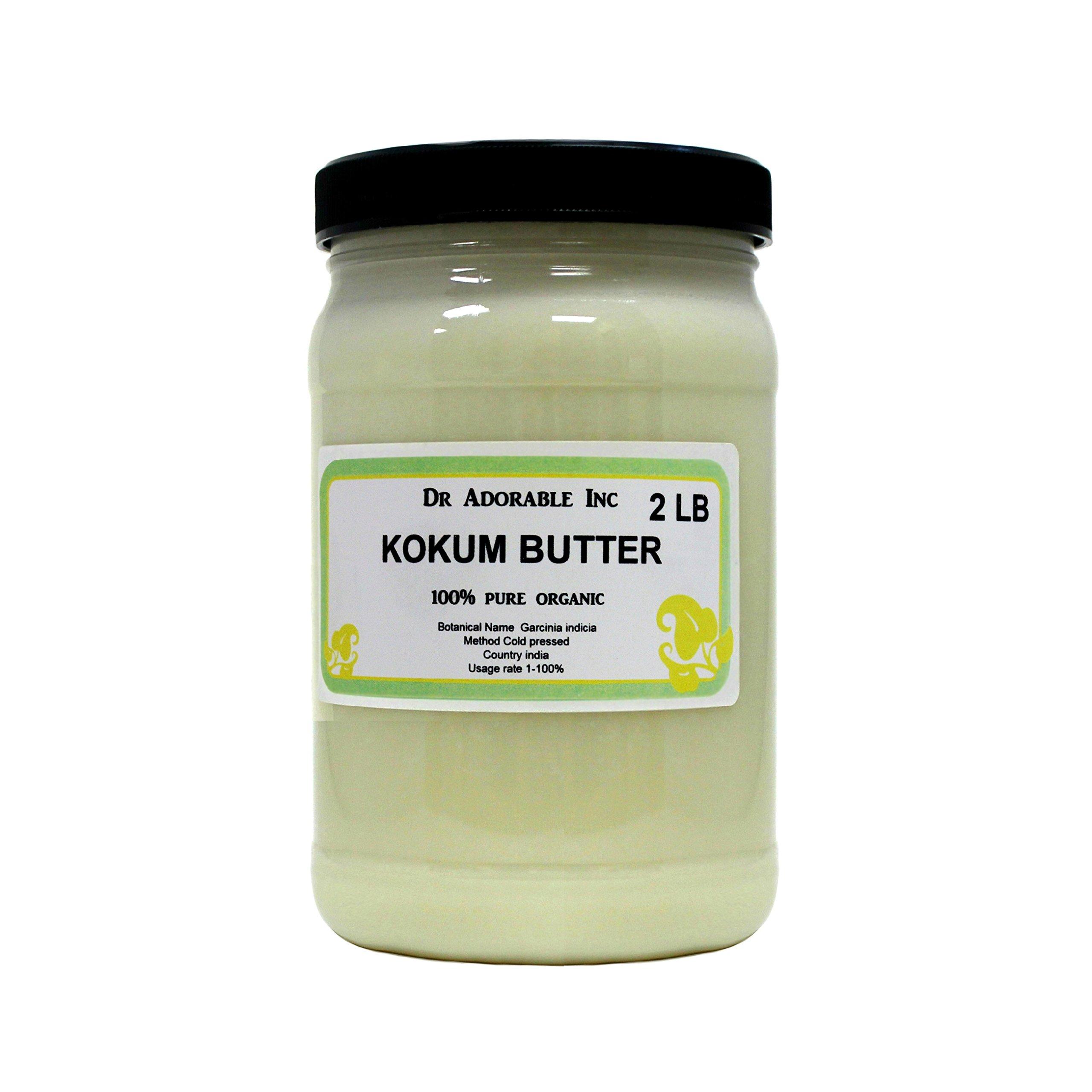Kokum Butter RAW Organic 100% Pure 32 Oz/ 2 Lb