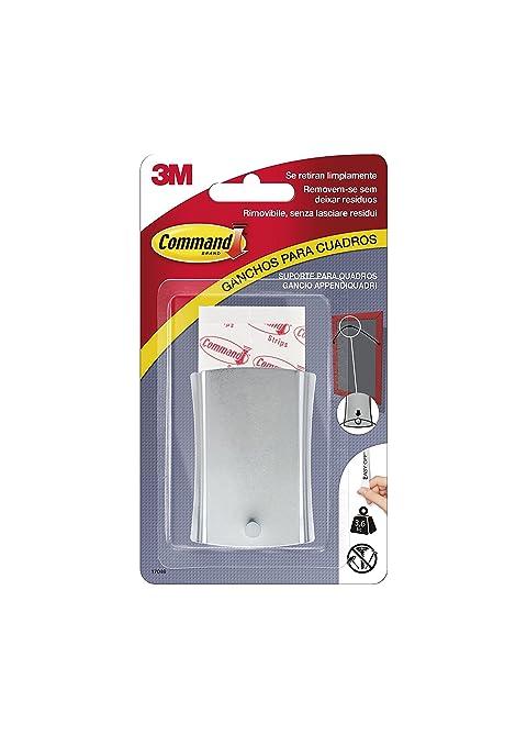 Command 17048 - Clavo metálico para colgar cuadros (grande, alambre ...
