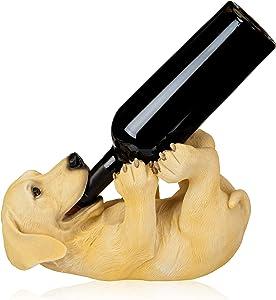 True Playful Pup Wine Bottle Holder, Set of 1