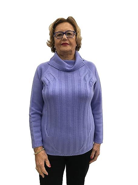 Carla Ferroni Dolcevita Glicine 100% Lana Made in Italy Art. 3950 - Lj ( 57273a6c715a