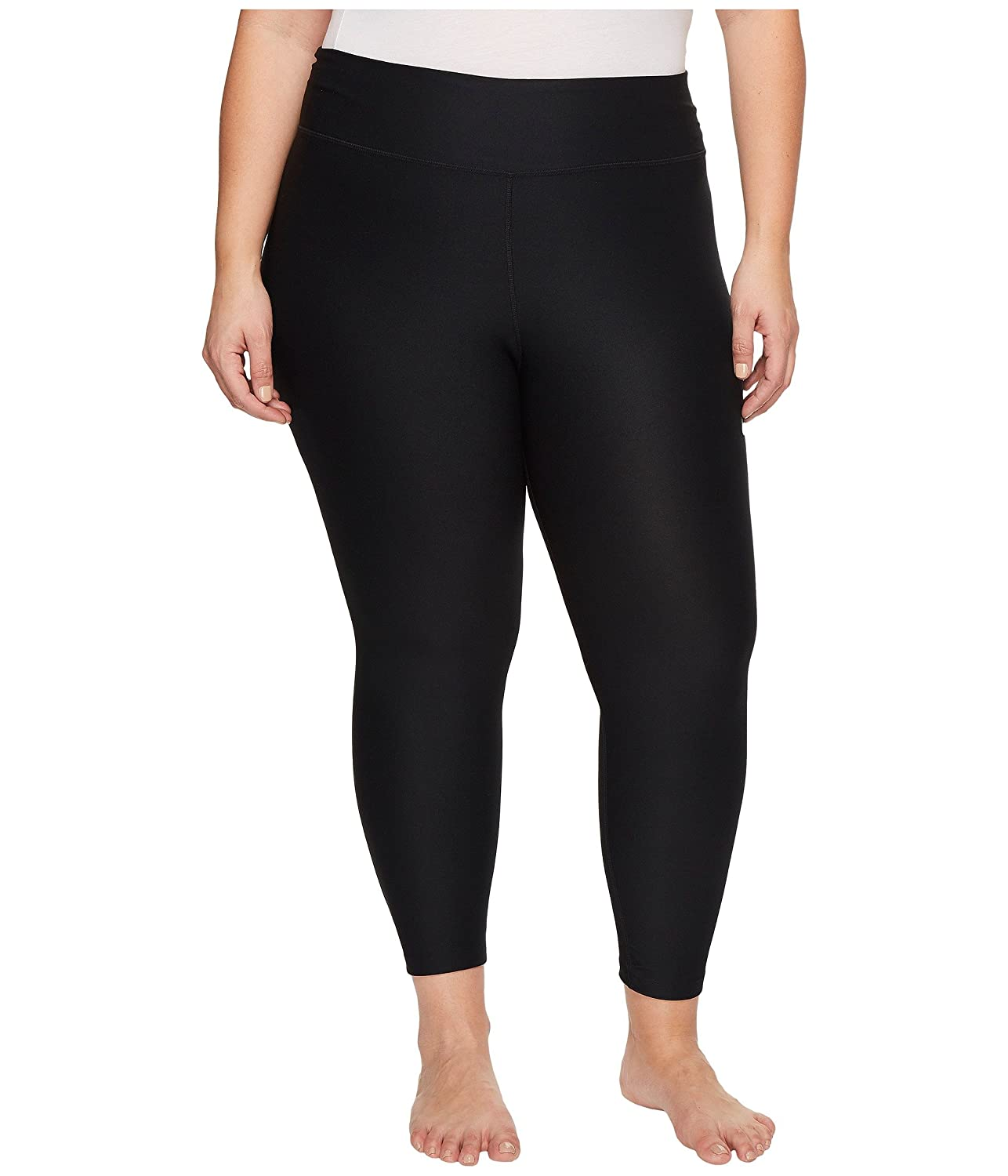 23de4471b1f0d 88% Polyester/12% Spandex NIKE Power fabric provides stretch and support.  Dri-FIT technology helps keep you dry and comfortable; cropped length hits  at the ...