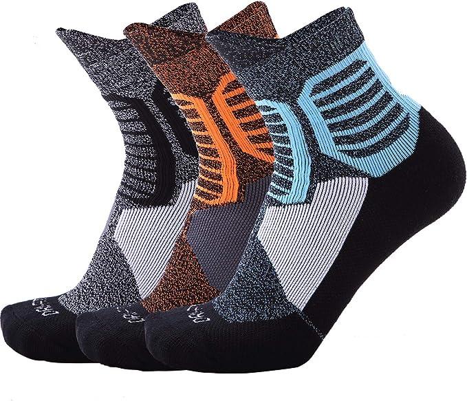 Amazon.com: Calcetines deportivos de algodón para hombre ...
