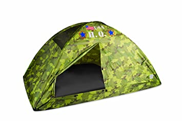 Pacific Play Tents HQ Twin Bed Tent Camouflage  sc 1 st  Amazon.com & Amazon.com: Pacific Play Tents HQ Twin Bed Tent Camouflage: Toys ...