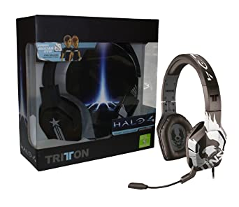 Mad Catz - Auriculares Stereo Trigger Halo 4 (Xbox 360)