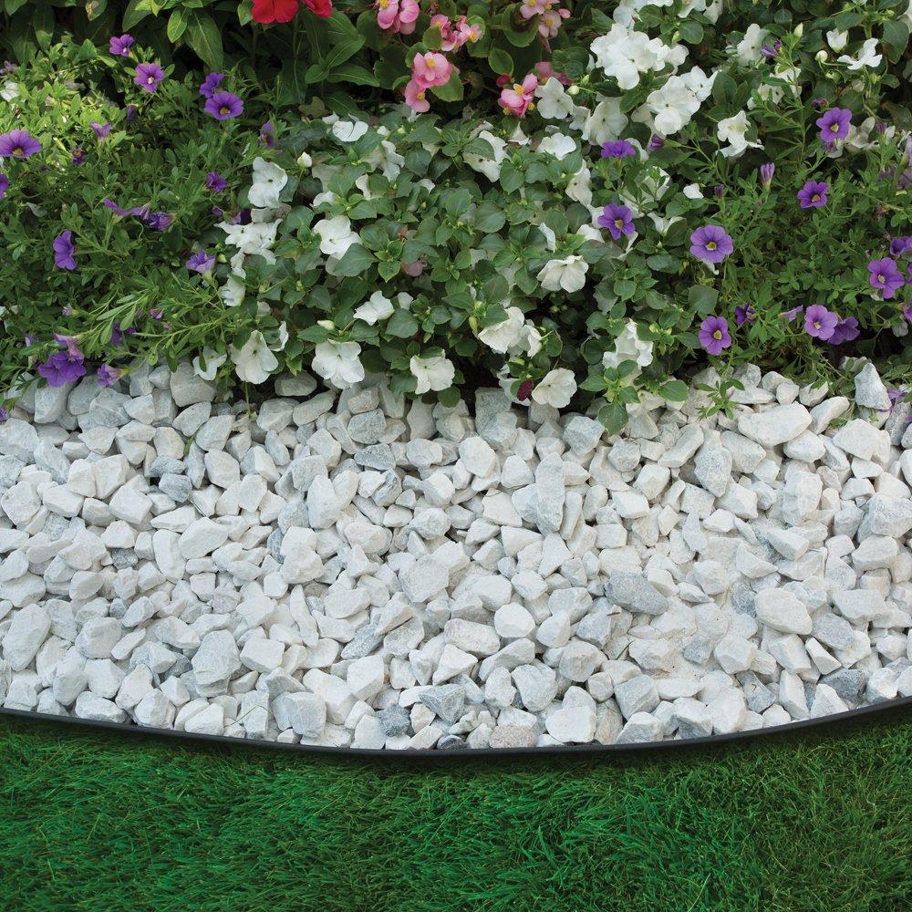 Gardenedging: EasyFlex No-Dig Plastic Landscape Edging Kit 40Ft Lawn