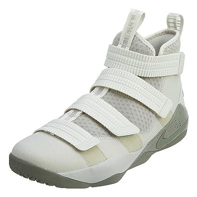 lebron soldier. nike men\u0027s lebron soldier xi sfg basketball shoe light bone/dark stucco-black 8 lebron