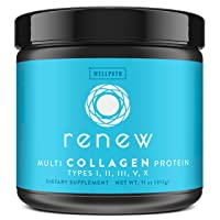 Renew Multi Collagen Protein Powder - 5 Types of Collagen - Hydrolyzed Grass-Fed...