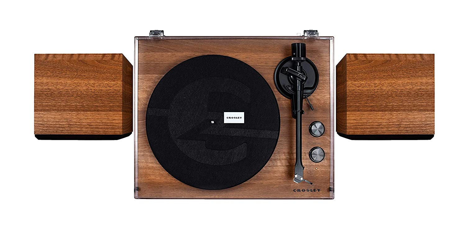Crosley C62 Belt-Drive Bluetooth Turntable System with ...