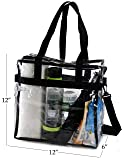 Clear Tote Bag NFL Stadium Approved - 2 PACK