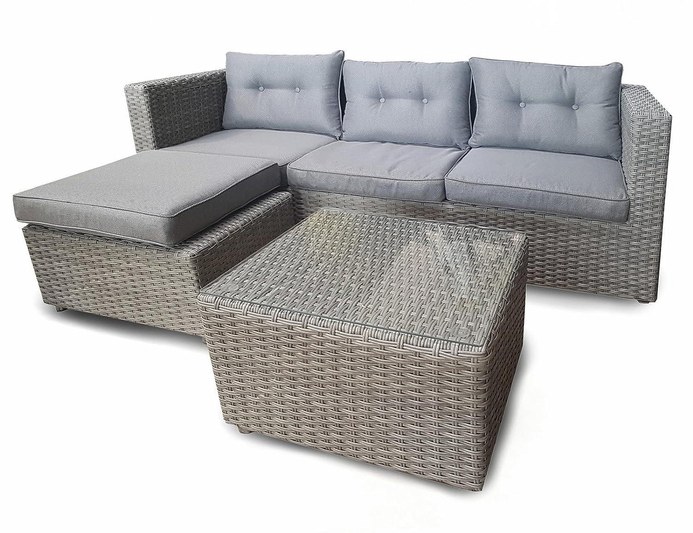 osoltus Lounge Gartenlounge Ecklounge Miami 185 x 74x 68cm