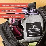 Bamboo Charcoal Air Purifying Bag (4 Pack), 200g