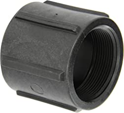 """Banjo CPLG200 Polypropylene Pipe Fitting, Coupling, Schedule 80, 2"""" NPT Female"""