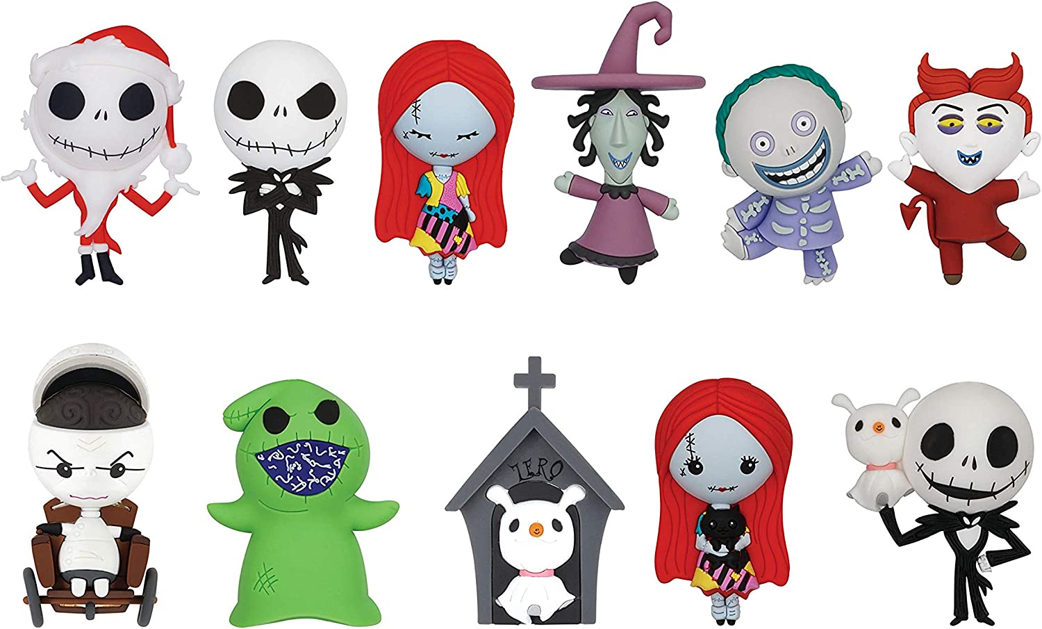 Disney Jack Plush Collectible Bag Clip The Nightmare Before Christmas